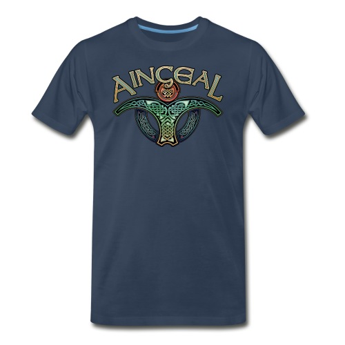 Gaelic Angel T-Shirt - Men's Premium T-Shirt