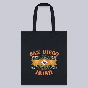 San Diego Irish Label - Tote Bag