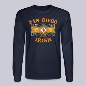 San Diego Irish Label - Men's Long Sleeve T-Shirt