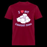 T-Shirts ~ Men's T-Shirt ~ I Love my Comfort Zone T
