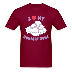 I Love my Comfort Zone T - Men's T-Shirt