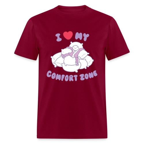 I Love my Comfort Zone T - Men's T-Shirt