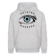 Hoodies ~ Men's Hooded Sweatshirt ~ Lady Boss