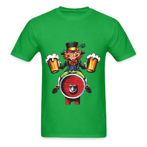 Beer Man St Pattys Day - Men's T-Shirt