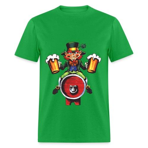 Beer Man St Pattys Day - Men's T-Shirt