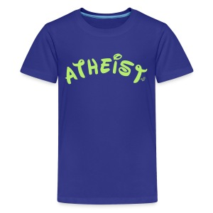 Happy Atheist by Tai's Tees - Kids' Premium T-Shirt