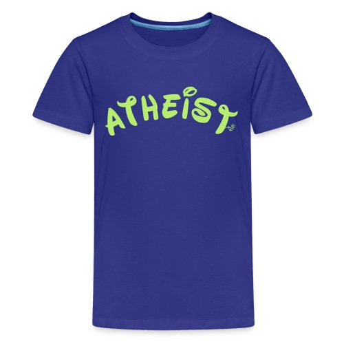 Happy Atheist by Tai's Tees - Kids' Premium T-Shirt