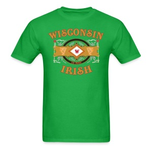 Wisconsin Irish Label - Men's T-Shirt