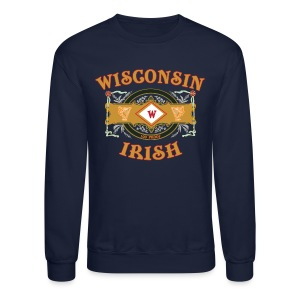 Wisconsin Irish Label - Crewneck Sweatshirt