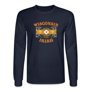 Wisconsin Irish Label - Men's Long Sleeve T-Shirt