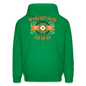 Wisconsin Irish Label - Men's Hoodie