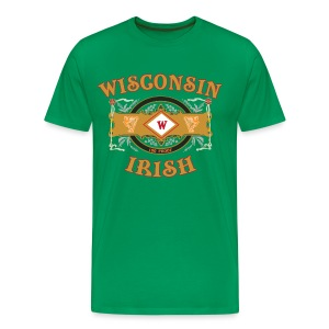 Wisconsin Irish Label - Men's Premium T-Shirt