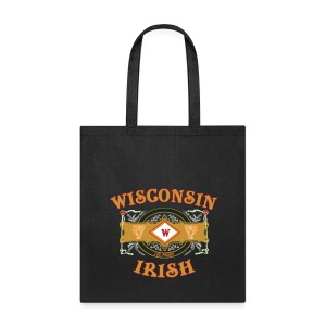 Wisconsin Irish Label - Tote Bag