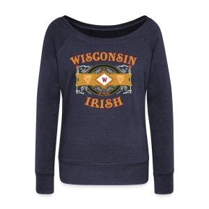 Wisconsin Irish Label - Women's Wideneck Sweatshirt