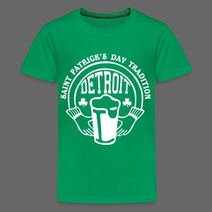 St. Pats Day Tradition Detroit - Kids' Premium T-Shirt