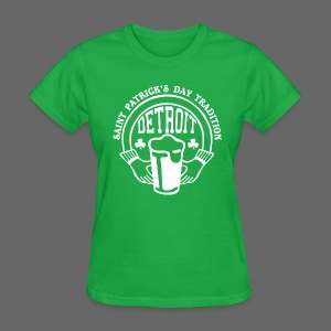 St. Pats Day Tradition Detroit - Women's T-Shirt
