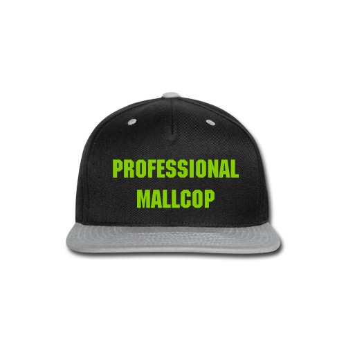 Offical MallCop Hat - Snap-back Baseball Cap