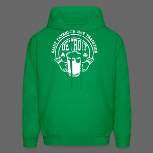 St. Pats Day Tradition Detroit - Men's Hoodie