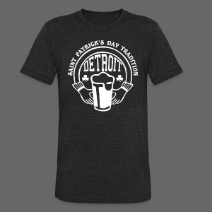 St. Pats Day Tradition Detroit - Unisex Tri-Blend T-Shirt by American Apparel
