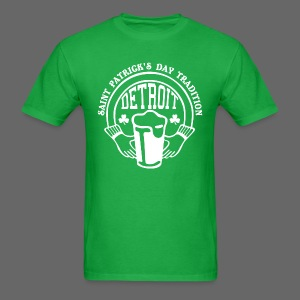 St. Pats Day Tradition Detroit - Men's T-Shirt