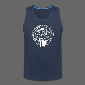 St. Pats Day Tradition Detroit - Men's Premium Tank