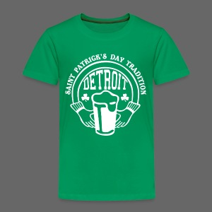 St. Pats Day Tradition Detroit - Toddler Premium T-Shirt