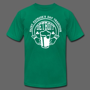 St. Pats Day Tradition Detroit - Men's T-Shirt by American Apparel