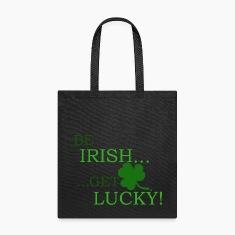 Be Irish Get Lucky Tote Bag