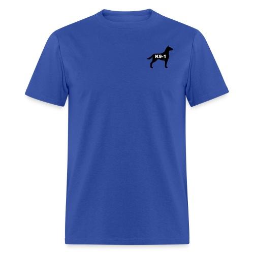 Classic K9-1 Shirt with large logo on back - Men's T-Shirt