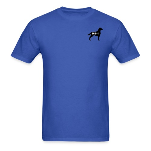 Classic K9-1 Shirt with large logo on back - Men's T-Shirt
