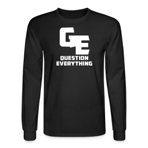 Question Everything Men Longsleeve - Men's Long Sleeve T-Shirt