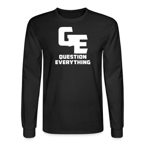Question Everything Men Longsleeve - Men's Long Sleeve T-Shirt