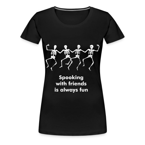 spooking is illegal - female - Women's Premium T-Shirt