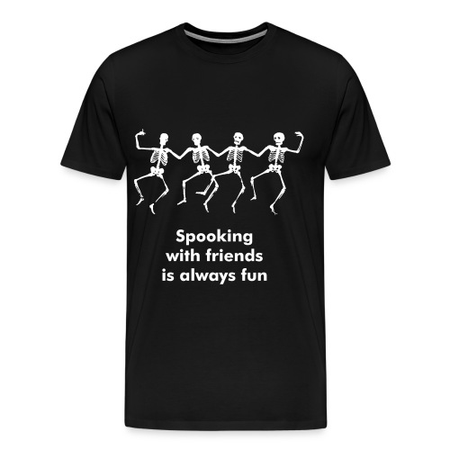 spooking is illegal - male - Men's Premium T-Shirt
