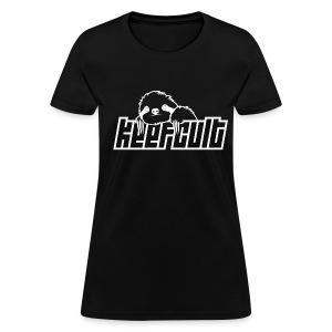 Keef Cult Sloth T-Shirt (Black Text) - Women's T-Shirt