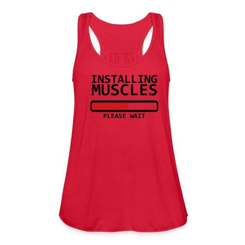 Women's Flowy Tank Top by Bella - motivation,inspiration,gym,fitness,fitfam