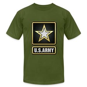 U.S.  Army Logo 3D  - Men's Fine Jersey T-Shirt