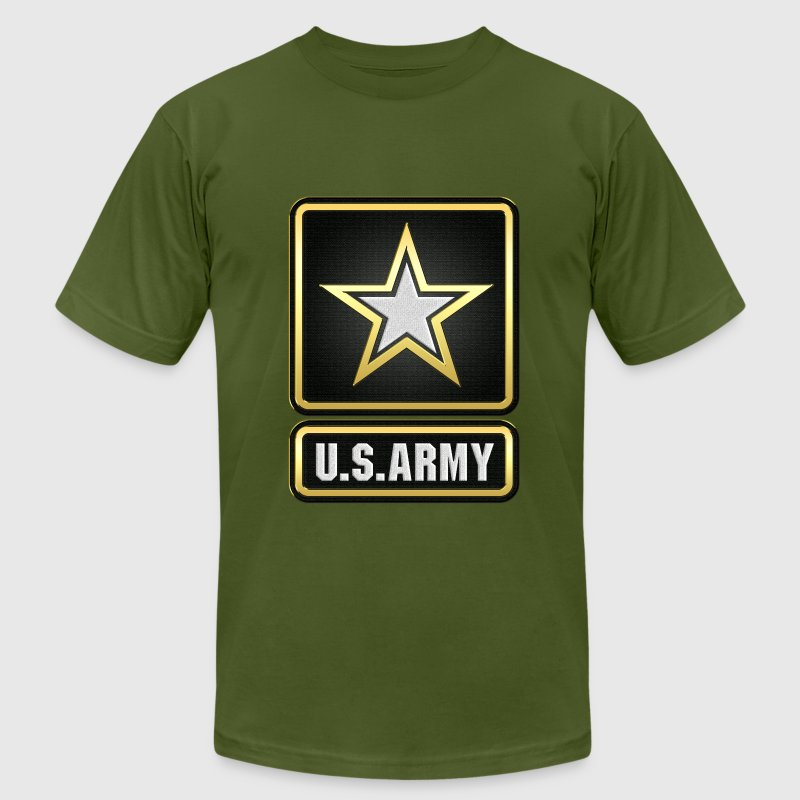 U s army logo 3d t shirt spreadshirt for Army design shirts online