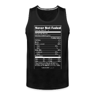 Tank Tops ~ Men's Premium Tank Top ~ Faded Nutrition