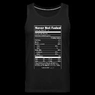 Sportswear ~ Men's Premium Tank ~ Faded Nutrition