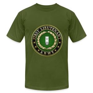First Lieutenant (1LT) Rank Insignia 3D  - Men's Fine Jersey T-Shirt