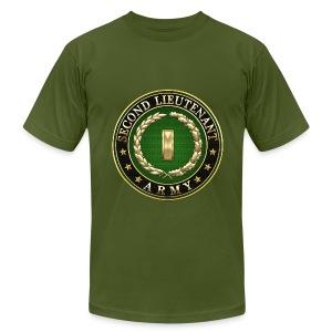 Second Lieutenant (2LT) Rank Insignia 3D  - Men's Fine Jersey T-Shirt