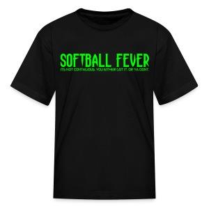 SOFTBALL FEVER - Kids' T-Shirt