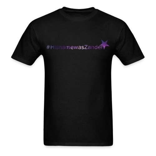 M: #HisNameWasZander - Men's T-Shirt