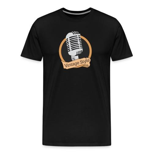 Vintage Style - Men's Premium T-Shirt