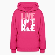 Live, Love, Ride  Hoodies