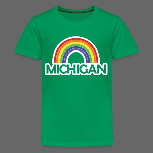 Kelly's Michigan Rainbow Shirt - Kids' Premium T-Shirt