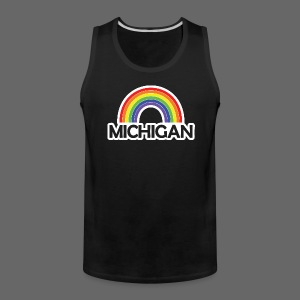 Kelly's Michigan Rainbow Shirt - Men's Premium Tank