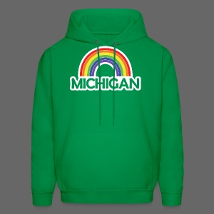 Kelly's Michigan Rainbow Shirt - Men's Hoodie