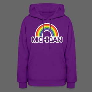 Kelly's Michigan Rainbow Shirt - Women's Hoodie